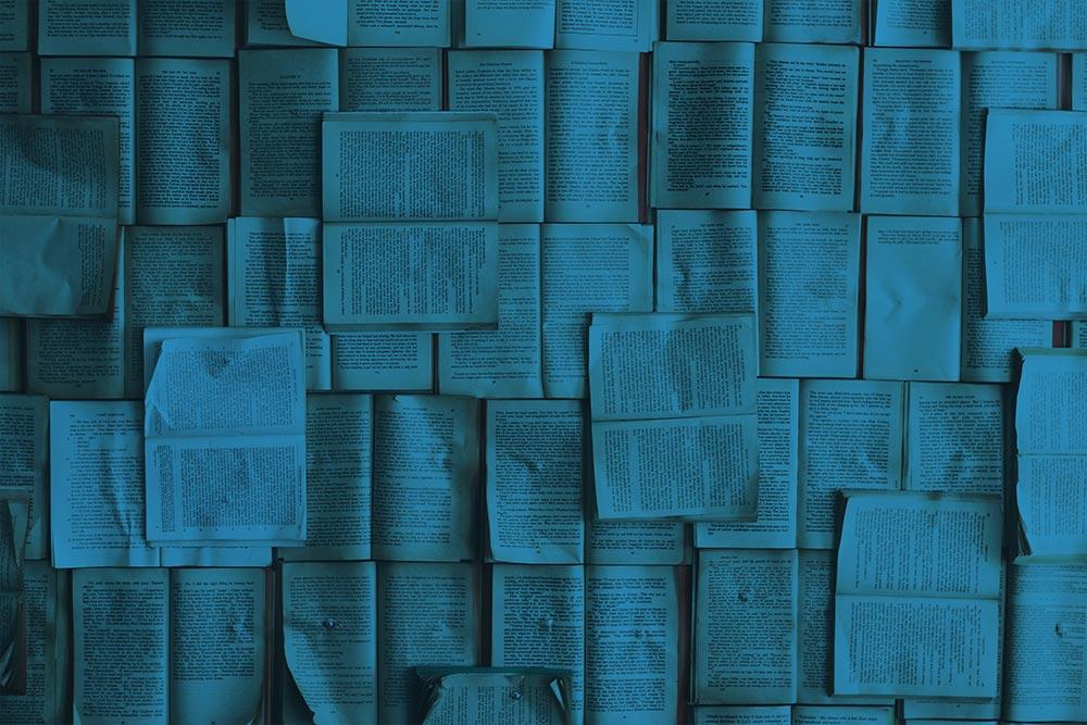Hojas de libros