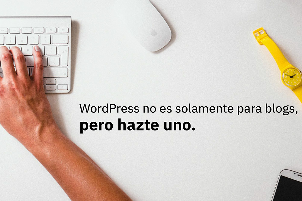 WordPress no es sólo para blogs