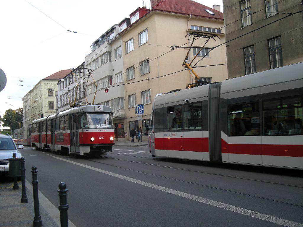 Tranvías en Brno